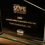 NAHB Safe - 2009 Innovative safety program/idea of the year - TWR enterprises, INC.