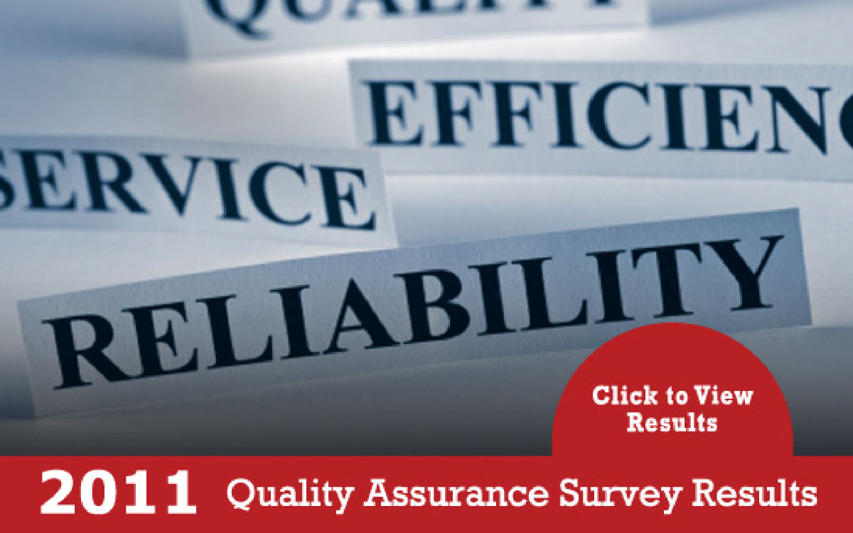 2011 Quality Assurance Survey Results - Click to View Results