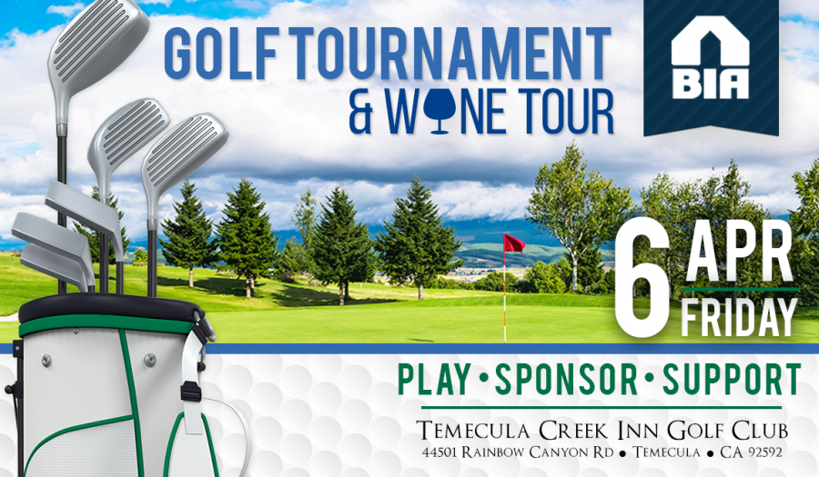 Golf Tournament & Wine Tour - 6 APR Friday