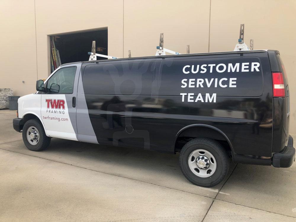 TWR Customer Services Van